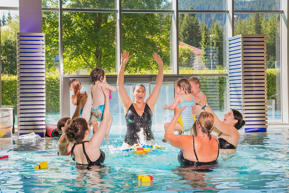 Babyschwimmen Alpenbad-Leutasch