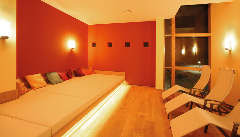 Relaxation tranquillity room