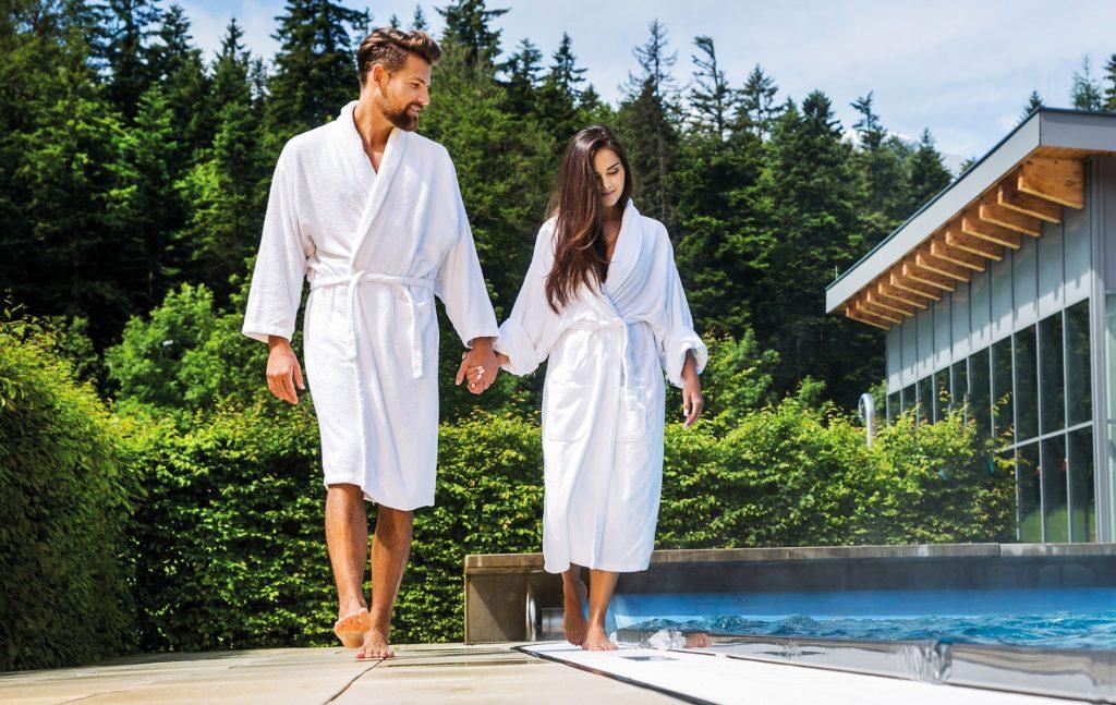 Wellness für Paare Alpenbad-Leutasch