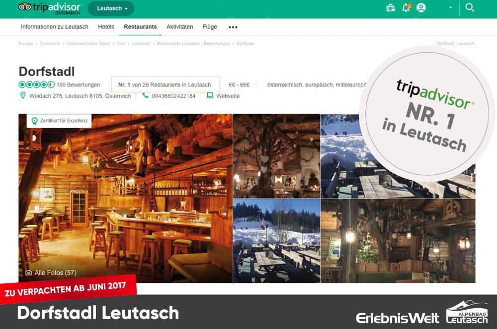 Restaurant Leutascher Dorfstadl pachten